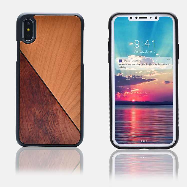 Promotional Products,Mobile Phone Accessories, Bamboo Wood Phone Case For iPhone 8
