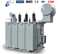 Low Loss Three Phase 35mva 110kv transformer oltc
