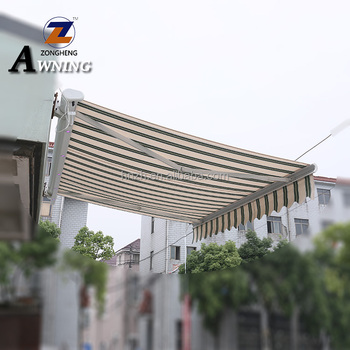 Large size waterproof rv Motorized aluminum diy retractable awning door awnings