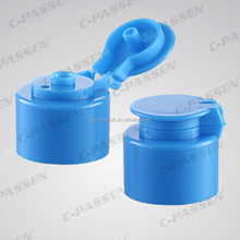 Plastic cap for dish washing cleanser bottle