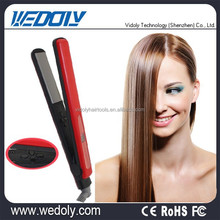 Professional Salon ceramic or aluminum plates hair straightener