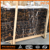 Best price and quality AF nero portoro black and gold marble