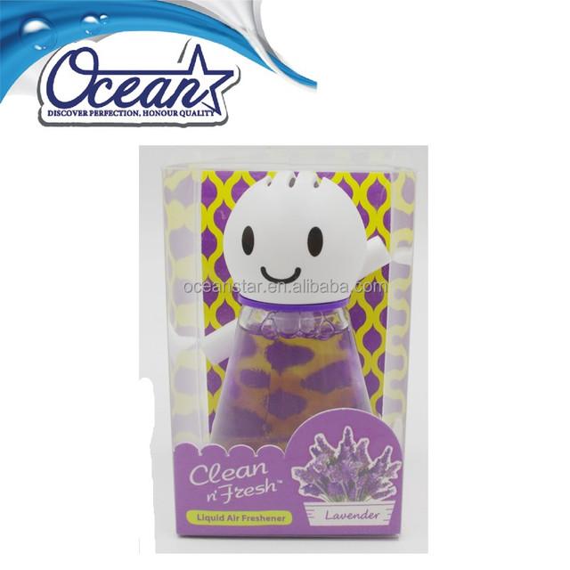 55ml Takara Tomy sunny doll smiley face car aroma air freshener perfume