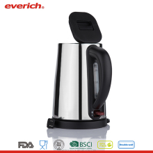 Everich ETL Certificate Cordless Stainless Steel Electric Kettle 1.7L
