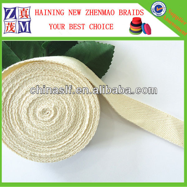 Custom Natrul Color Cotton Web Belt