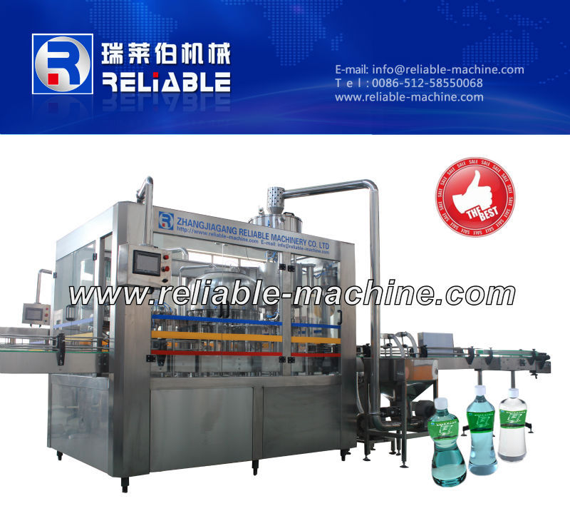 Plastic bottle automatic water washing filling capping machine/line high quality low price CGFseries