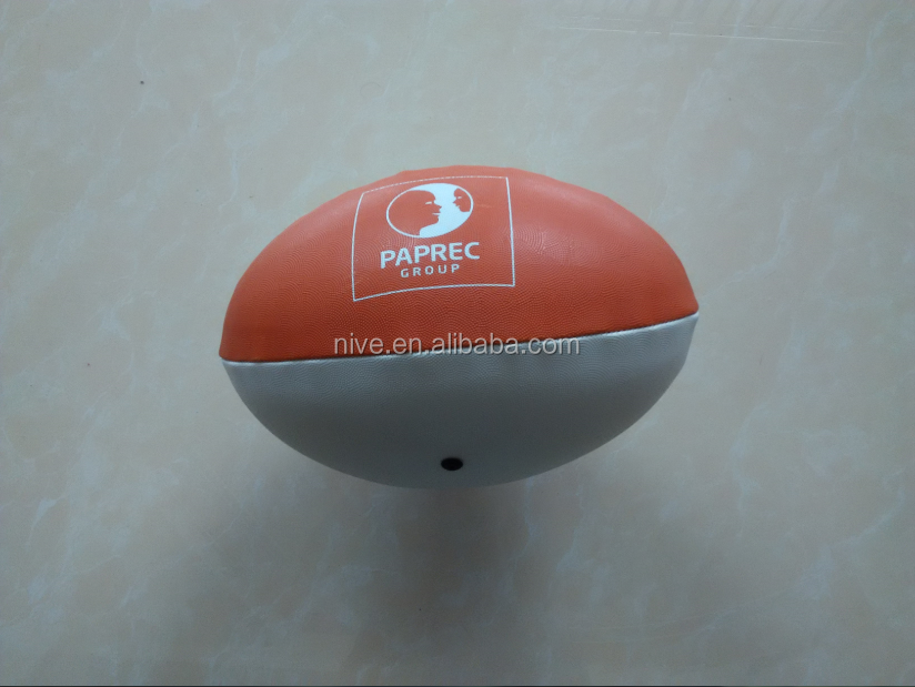 2015 Hot Selling PVC Machine Stitched Rugby ball
