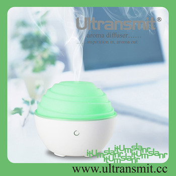 Customized Stable 80ml Ultransmit Ultrasonic Electric Mini Aroma Diffuser with The Compact Lightweight Body