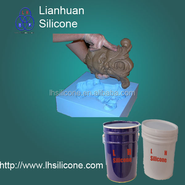 polyester resin casting /gypsum/resin/<strong>concrete</strong>/cement mould silicone rubber rtv-2