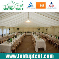 20x25m Wedding Marquee Event Party Tent with Lining and Drapes