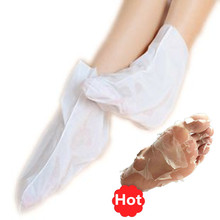 Peel off sock peeling exfoliating foot mask