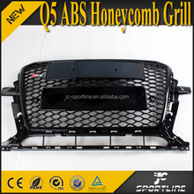 RSQ5 ABS Honeycomb Mesh Front Bumper Grill for Audi Q5 Facelift 2013-2014