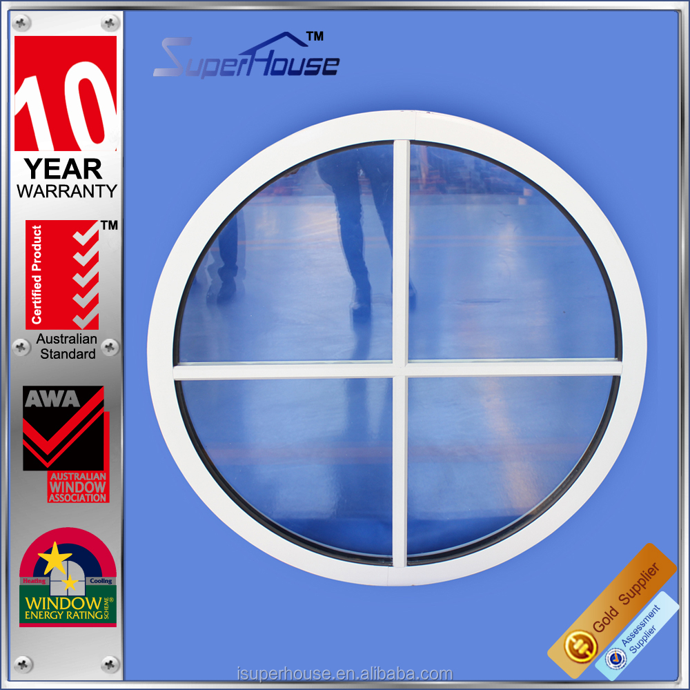 curved glass windows N6 window rating aluminum alloy fixed window with tempered glass