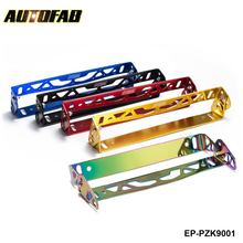AUTOFAB -Car-Styling Adjustable Racing Style Relocate Bracket Car Autos License Plate Frame Holder For Toyota Honda EP-PZK9001