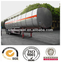 Best Selling 3 Compartment Fuel Tanker trailer For Sale