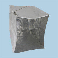 Star New material three side sealed aluminum moisture barrier bag
