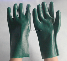 top PVC working gloves hand chemical and acid resistant gloves