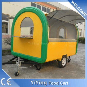 Mobile fast food mobile kitchen trailer for sale usa