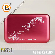Simple fashion trend hdd enclosure protect case