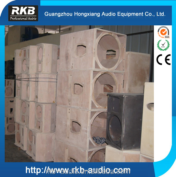 Empty plywood subwoofer cabinet/Speaker box/Line array speaker box