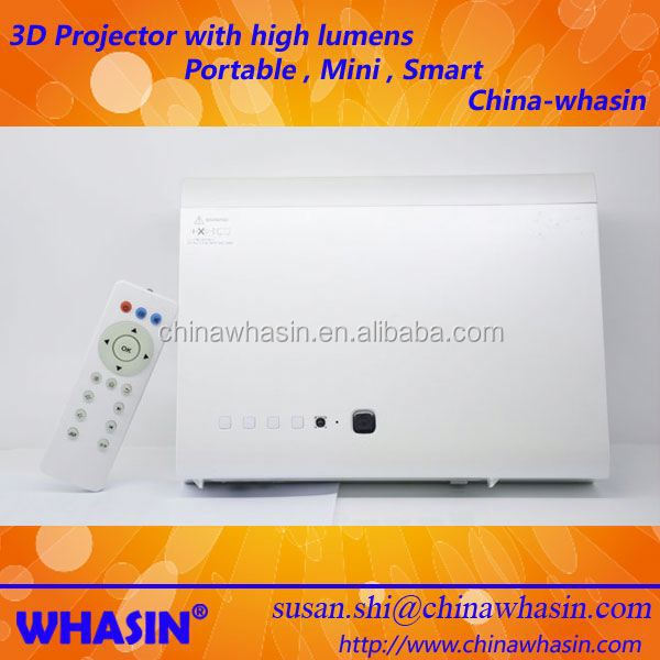 Watching 200inch Big Screen TV Program DVB-T LED Laser Video Multimedia Digital 3D Projector