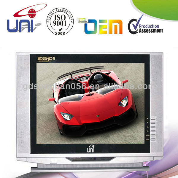 "New CRT Tube 14"" Normal Flat CRT COLOR TV Made in China"
