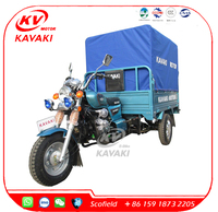New Model -Adult Tricycle 150CC 3 Wheel Motorcycle Trailer With Tent