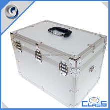 MLDGJ651 Aluminum Instrument Box For Equipment Storage&Carrying With One Mesh Pocket Good Quality