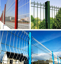 Post and Wire Mesh Fence