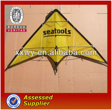 Promotional triangle foldable kite
