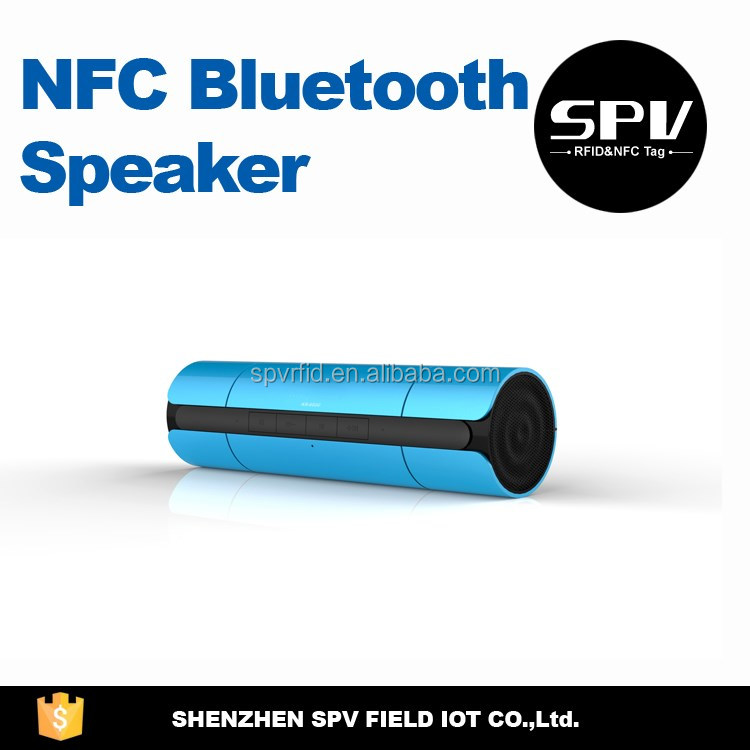 Waterproof NFC Mini Portable Bluetooth Speaker
