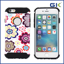 [GGIT] Fashion Hedgehog With Colorful Pattern Design 2 in 1 TPU+PC Case For IPhone 6 Phone Cover