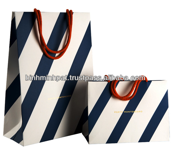 Paper Bag With Handle Shopping