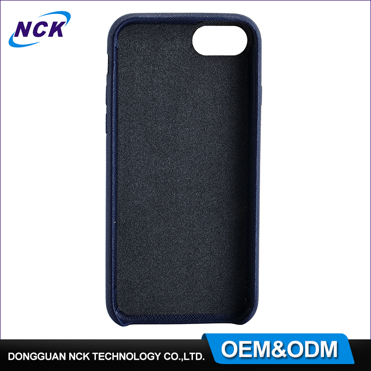Free sample MOQ=100pcs crossing lines PU leather phone case for iphone 7 7plus