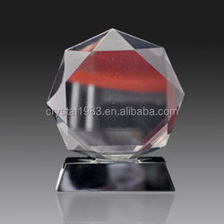 Custom K9 crystal trophy wholesale new design crystal trophy and awards TA6933 Ruiliang Crystal Handcraft Factory