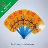 2014 colorful high quality hot selling factory price stylish bamboo hand fan