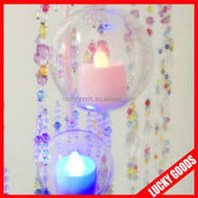 latest design fashionable transparent decorative plastic christmas balls open