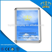 Beautiful glass clip frame for exhibition