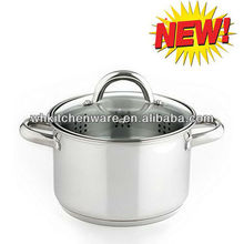 8Qt High Quality Stainless Steel Cookware/Steamer Pot