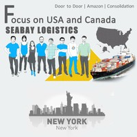 Brilliant sea freight forwarder to new york