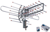 360 degree Rotatable Infra-Red TV Remote Controlled Rotating Outdoor TV Antenna DT-950C (CCT antenna - Rotating Antenna)