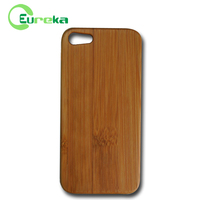 Factory direct sales plastic + wood phone cover for IPhone5,5s,5g