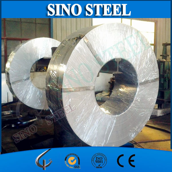 DX51D Z80 zero spangle Galvanized Steel hoop iorn for cable armoring