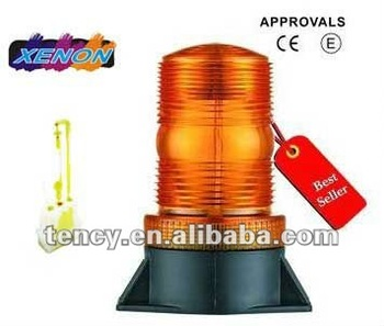 With E-mark certificate Car warning light, Beacon light, Forklift Lighting (KF-WB-36. Xenon Flash) 12-110V