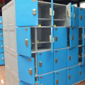 colorful small military wall lockers