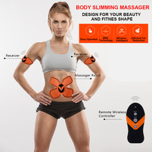 EMS Muscle Stimulating Battery Operated Mini Massage Device