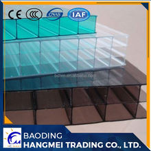 Grade a 4mm 6mm 8mm 10mm thick clear polycarbonate roof sheet price