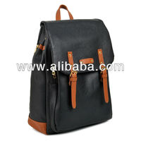 Womens mens Unisex Laptop notebook Bag school Backpack Black