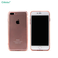 New Arrival soft silicone mobile phone case, 0.3mm Crystal clear tpu case for Iphone 7