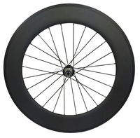700C high profile 88mm Clincher stiffness and perfect inertia carbon wheelsets